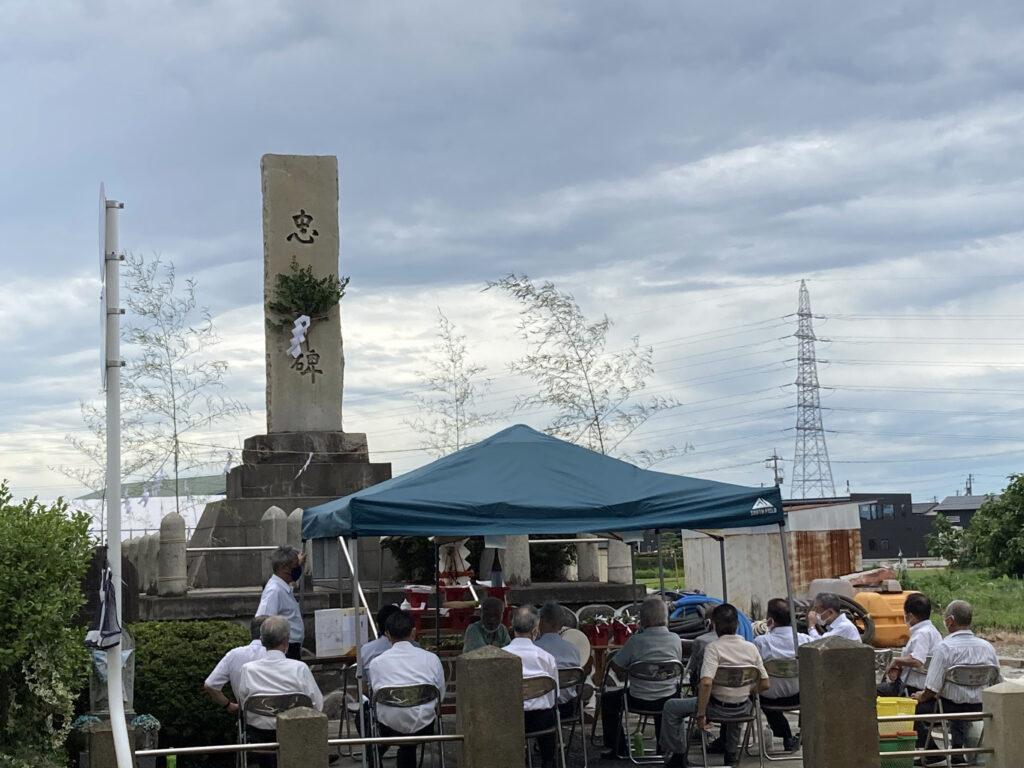 倉垣地区 慰霊祭(招魂祭)2