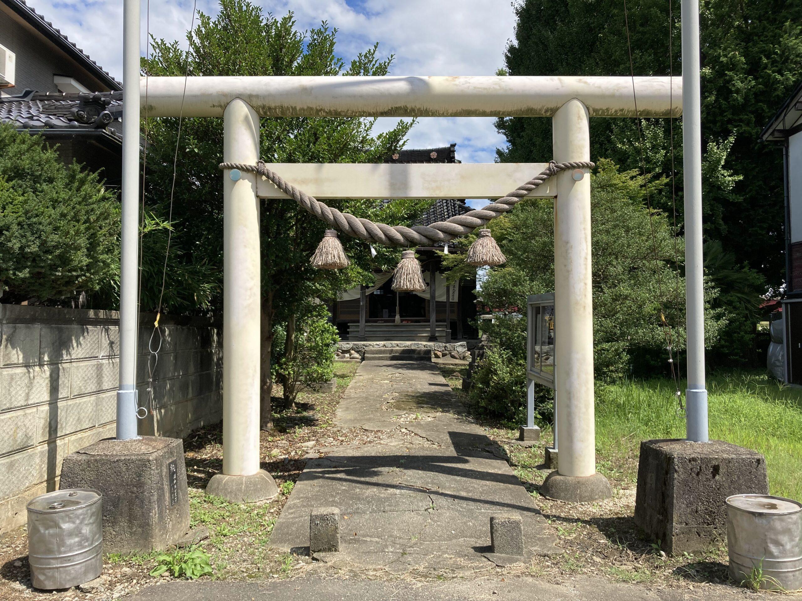 日枝社(富山市駒見・田刈屋新町の氏神神社)02